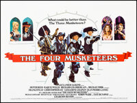 """The Four Musketeers (20th Century Fox, 1975). Folded, Very Fine+. British Quad (30"""" X 40"""") Style A. Swashbuckl..."""