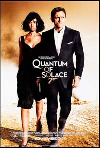 """Quantum of Solace (MGM, 2008). Rolled, Very Fine+. One Sheet (27"""" X 40"""") SS Advance. James Bond"""