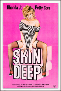 """Skin Deep & Other Lot (Eros Films, 1982). Folded, Very Fine+. One Sheets (2) (27"""" X 41""""). Adult. ... (Tota..."""
