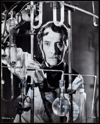"""Peter Cushing (1975). Very Fine/Near Mint. Autographed Photo (8"""" X 10""""). Horror"""