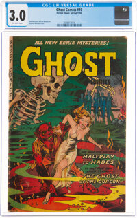 Ghost #10 (Fiction House, 1954) CGC GD/VG 3.0 Off-white pages