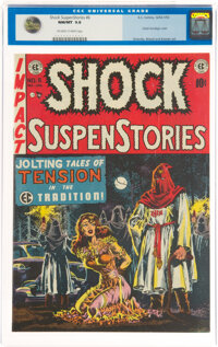 Shock SuspenStories #6 (EC, 1952) CGC NM/MT 9.8 Off-white to white pages