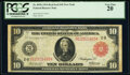 Fr. 893b $10 1914 Red Seal Federal Reserve Note PCGS Very Fine 20