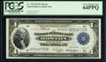 Fr. 710 $1 1918 Federal Reserve Bank Note PCGS Very Choice New 64PPQ
