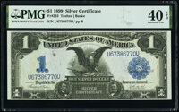 Fr. 233 $1 1899 Silver Certificate PMG Extremely Fine 40 EPQ