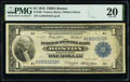 Fr. 709 $1 1918 Federal Reserve Bank Note PMG Very Fine 20