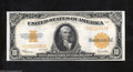 Large Size:Gold Certificates, Fr. 1173 $10 1922 Gold Certificate Very Choice Crisp ...