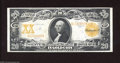 Large Size:Gold Certificates, Fr. 1183 $20 1906 Gold Certificate Very Fine. Wholesome ...