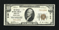 National Bank Notes:Pennsylvania, Delta, PA - $10 1929 Ty. 1 The Peoples NB Ch. # 5198. ...
