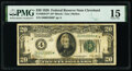 Fr. 2050-D* $20 1928 Federal Reserve Star Note. PMG Choice Fine 15