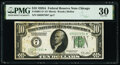 Fr. 2001-G* $10 1928A Federal Reserve Star Note. PMG Very Fine 30