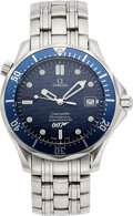 Timepieces:Wristwatch, Omega, Seamaster James Bond 007, 40 Years Limited Edition. ...