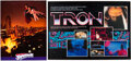 Animation Art:Limited Edition Cel, TRON and Superman IV Posters (Walt Disney, 1982/Warner Brothers, 1987).... (Total: 2 Items)