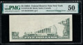 Error Notes:Obstruction Errors, Obstruction Error Fr. 1970-B $5 1969A Federal Reserve Note. PMG About Uncirculated 50.. ...