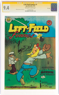 Left-Field Funnies #1 Signature Series: Bobby London - File Copy (Apex Novelties, 1972) CGC NM 9.4 Off-white to white pa...