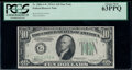 Fr. 2006-G* $10 1934A Federal Reserve Star Note. PCGS Choice New 63PPQ