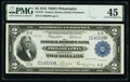 Fr. 753 $2 1918 Federal Reserve Bank Note PMG Choice Extremely Fine 45