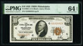 Fr. 1860-C $10 1929 Federal Reserve Bank Note. PMG Choice Uncirculated 64 EPQ