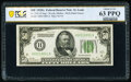 Fr. 2101-H $50 1928A Federal Reserve Note. PCGS Banknote Choice Unc 63 PPQ