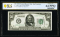 Fr. 2100-L $50 1928 Federal Reserve Note. PCGS Banknote Choice Unc 64 PPQ