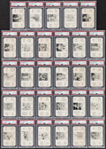 Baseball Cards:Lots, 1936 S & S Game PSA Graded Collection (29)....