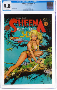 Blackthorne 3-D Series #1 Sheena 3-D Special (Blackthorne Publishing, 1985) CGC NM/MT 9.8 White pages