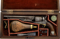 Cased US Martially Inspected Colt Model 1860 Army Revolver with John Babcock and W.F. Cody Association