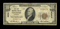 National Bank Notes:Wyoming, Evanston, WY - $10 1929 Ty. 1 The First NB Ch. # 8534. ...
