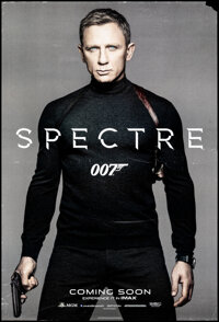 """Spectre (Columbia, 2015). Rolled, Fine/Very Fine. One Sheet (27"""" X 40"""") DS Advance. James Bond"""