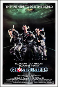 """Ghostbusters (Columbia, 1984). Rolled, Very Fine+. One Sheet (27"""" X 41"""") SS. Comedy"""