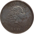 1793 1C Chain, AMERICA, Periods, S-4, B-5, R.3 -- Corroded, Damaged -- ANACS. VF30 Details....(PCGS# 35444)
