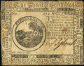 Colonial Notes:Continental Congress Issues, Continental Currency May 9, 1776 $6 Very Fine.. ...