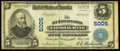 Rutherford, NJ - $5 1902 Plain Back Fr. 606 The Rutherford National Bank Ch. # 5005 Very Fine