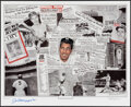 Autographs:Others, 1990s Joe DiMaggio Signed Lithograph....