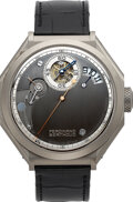 Timepieces:Wristwatch, Ferdinand Berthoud, Rare and Important Chronomètre Certified COSC, Constant Force Regulation With Fusee And Chain Transmissio...