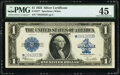 Large Size:Silver Certificates, Fr. 237* $1 1923 Silver Certificate Star PMG Choice Extrem...