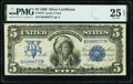 Large Size:Silver Certificates, Fr. 272 $5 1899 Silver Certificate PMG Very Fine 25 EPQ.