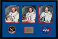 Explorers:Space Exploration, Apollo 11: Matching Individually-Signed White Spacesuit Co...