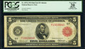 Fr. 837b $5 1914 Red Seal Federal Reserve Note PCGS Apparent Very Fine 20
