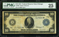 Fr. 930* $10 1914 Federal Reserve Star Note PMG Very Fine 25