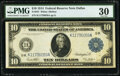 Fr. 947 $10 1914 Federal Reserve Note PMG Very Fine 30