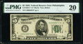 Fr. 1950-C* $5 1928 Federal Reserve Star Note. PMG Very Fine 20