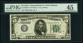Fr. 1950-F* $5 1928 Federal Reserve Star Note. PMG Choice Extremely Fine 45