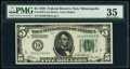 Fr. 1950-I $5 1928 Federal Reserve Note. PMG Choice Very Fine 35