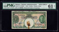 Malaya Board of Commissioners of Currency 1 Dollar 1.1.1940 Pick 4s KNB3b Specimen PMG Uncirculated 61 Net