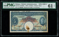 Malaya Board of Commissioners of Currency 5 Dollars 1.1.1940 Pick 5s KNB4b Specimen PMG Uncirculated 61 Net
