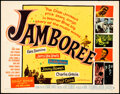 """Movie Posters:Rock and Roll, Jamboree (Warner Bros., 1957). Rolled, Very Fine-. Half Sheet (22"""" X 28""""). Rock and Roll.. ..."""