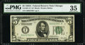 Fr. 1951-G* $5 1928A Federal Reserve Star Note. PMG Choice Very Fine 35