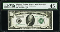 Fr. 2000-B $10 1928 Federal Reserve Note. PMG Choice Extremely Fine 45 EPQ