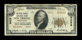 National Bank Notes:Pennsylvania, New Tripoli, PA - $10 1929 Ty. 2 The New Tripoli NB Ch. # 9656. ...